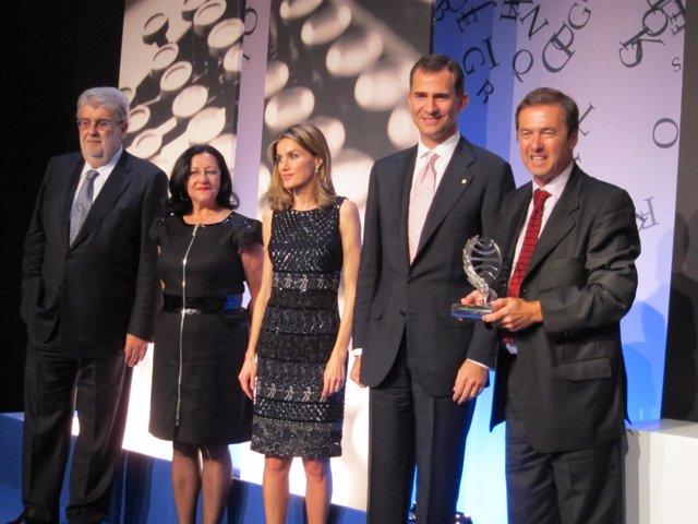 J.M.Lara, I.Chacón, Los Príncipes Y Javier Moro, Premio Planeta 2011