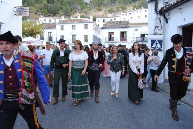 Irene García en las jornadas 'Sangre y amor en la Sierra' en Grazalema