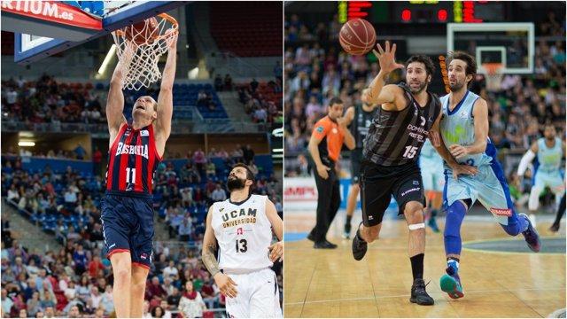 Baskonia y Dominion Bilbao ganan en la segunda jornada