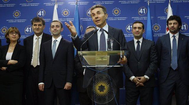 Bidzina Ivanishvili designa a sus candidatos para el nuevo Gobierno
