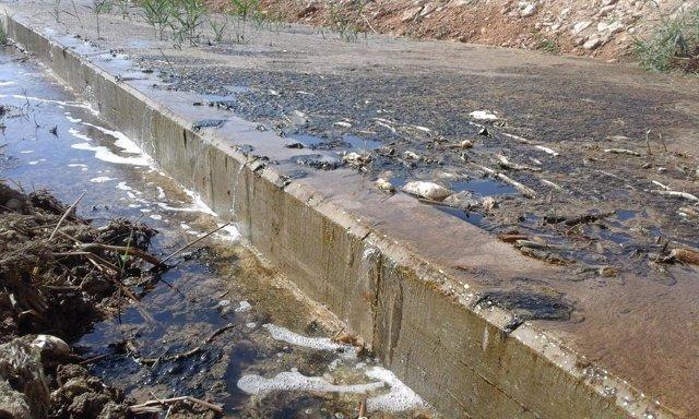 Nuevos vertidos al Mar Menor procedentes de desalobradoras y drenajes