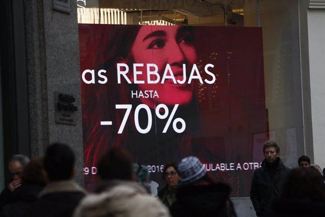 Compra, compras, comprar, precios, IPC, consumo, rebaja del 70%, rebajas