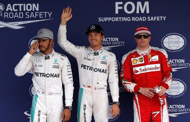 Nico Rosberg pole Lewis Hamilton Kimi Raikkonen Japón Suzuka