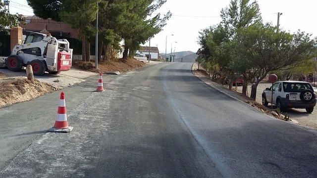 Mejoras en la carretera AL-7102
