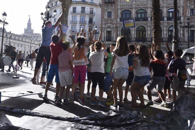 Gymkana en Sevilla