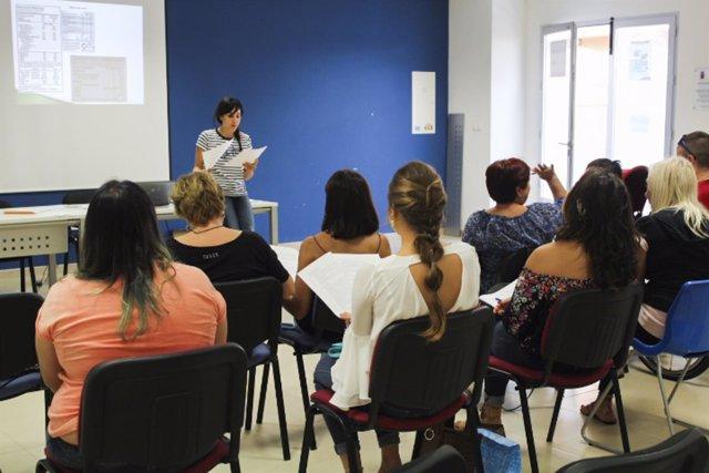 Taller de salud en Huércal de Almería