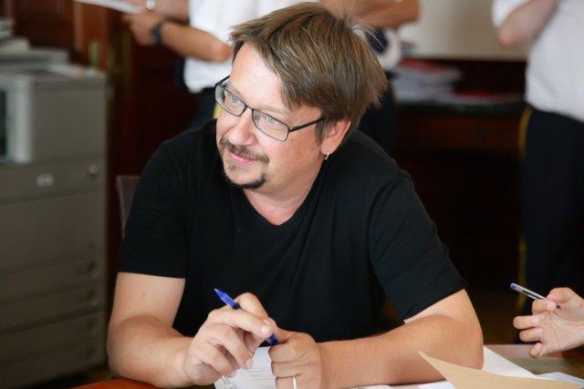 Xavier Domènech, diputado de En Comú Podem