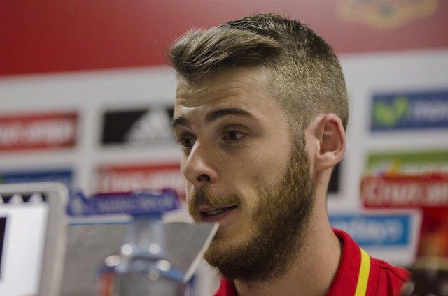 De Gea, jugador de la selección española