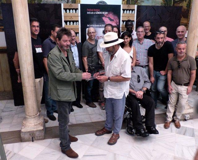 Premio a Enrique Urbizu en Granada Noir