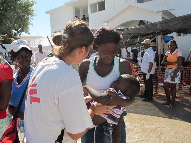 Haití, cólera