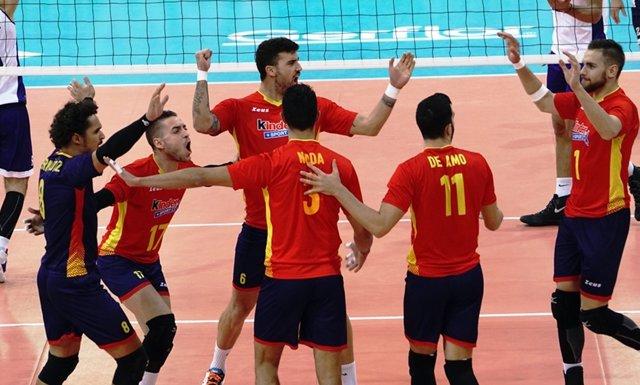 La selección española de voleibol estará en el Europeo 2017