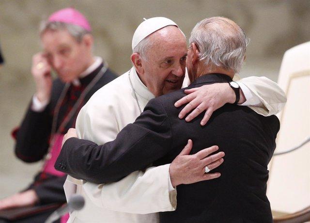 Papa Franciso y Adolfo Nicolás