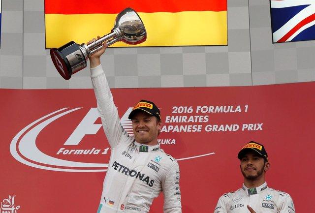 Nico Rosberg Lewis Hamilton Japón Suzuka