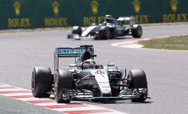 Rosberg Gran Premio España