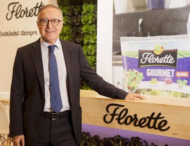 Juan Miguel Floristán, director general de Florette Ibérica
