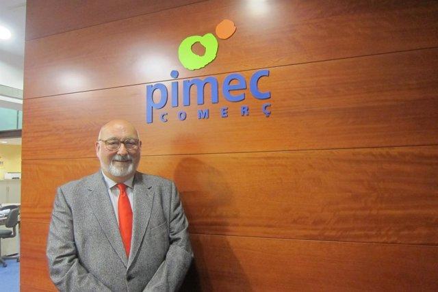El presidente de Pimec Comerç, Àlex Goñi