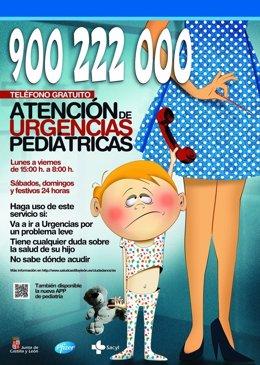Teléfono de Atención de Urgencias Pediátricas