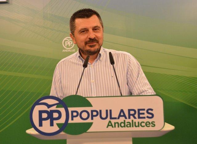Toni Martín, hoy en rueda de prensa