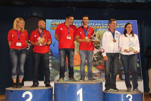 Campeonato de fotografía submarina en La Herradura