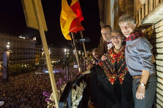 Pregón de las Fiestas del Pilar de 2016.