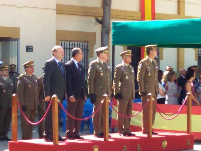 Acto en la ULOG 24 de Melilla