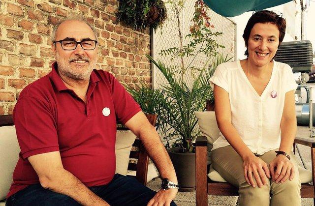 Alejandro Sánchez y Clotilde Cuéllar
