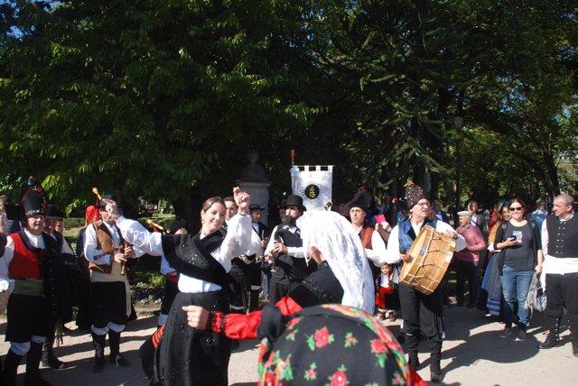 Celebración del Domingo das Mozas en Lugo
