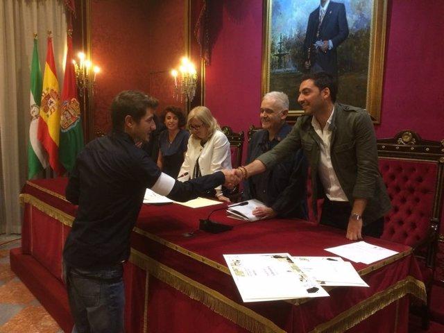 Entrega de premios de Pintura Joven de Granada