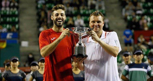 Marcel Granollers Marcin Matkowski tenis dobles Tokio