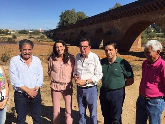 El PP pide que el Puente Romano de Niebla sea BIC