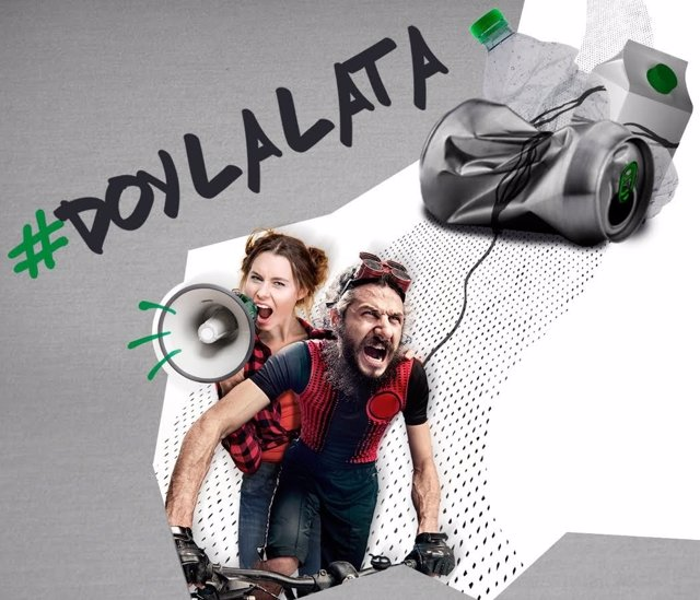 Imagen de la campaña Doy la Lata, de Amigos de la Tierra