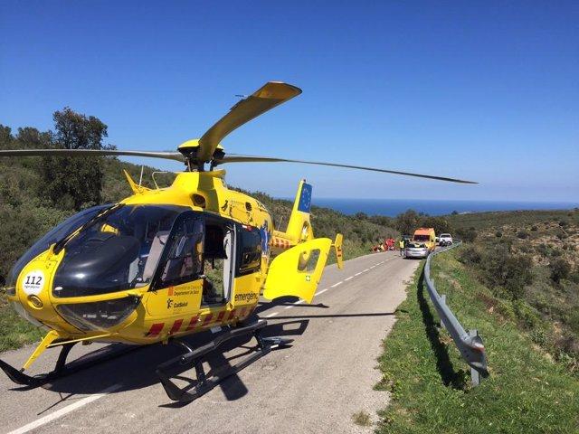 Helicóptero del SEM
