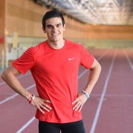 Bruno Hortelano, velocista español