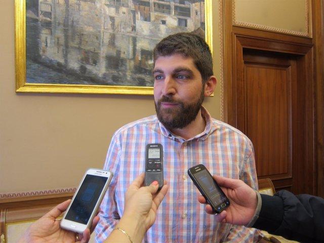 Aritz Romeo, concejal de Seguridad Ciudadana del Ayuntamiento de Pamplona