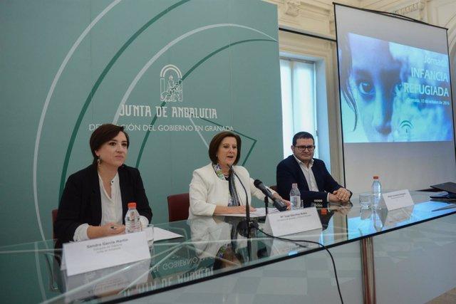 Sánchez Rubio abre en Granada una jornada sobre la infancia refugiada