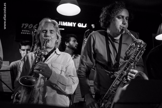 Latino y Sambeat en Jimmy Glass Jazz
