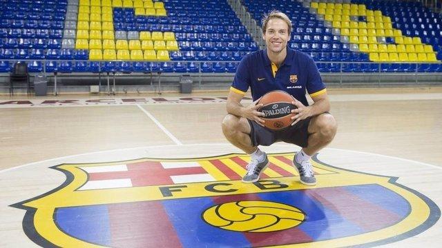 Petteri Koponen, jugador finlandés del FC Barcelona Lassa