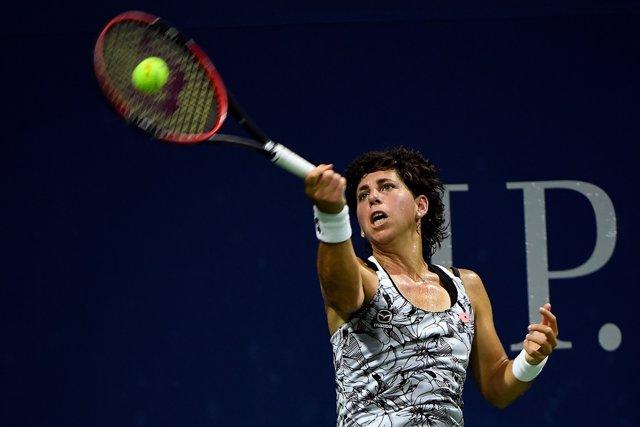 Carla Suárez en el US Open