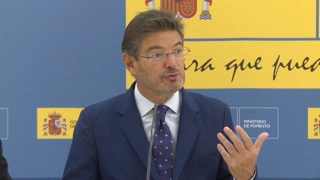 """Catalá: en los documentos de ADIF no hay """"ocultación"""""""