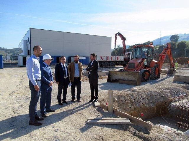 Fotos Visita Inicio Construcción Talleres Municipales Polígono