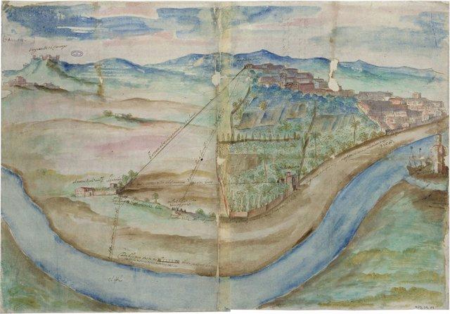 Imagen de la obra que se puede ver en la exposición