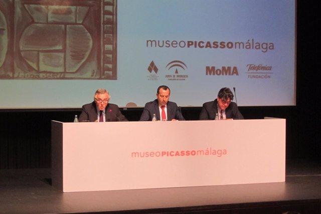 Presentación de la exposición de Torres-García espejo lebrero pérez-oramas