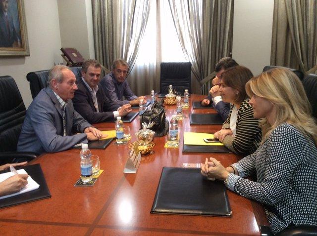 Bonig se reúne con el presidente de AVA-Asaja