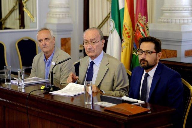 De la Torre y Pomares presentan los fondos Edusi para Málaga