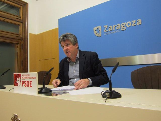 El concejal del PSOE, Javier Trívez