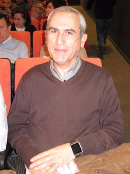 El actual secretario general de CCOO-Córdoba, Rafael Rodríguez
