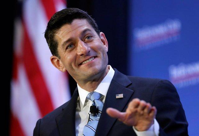 El presidente de la Cámara de Representantes de EEUU, Paul Ryan