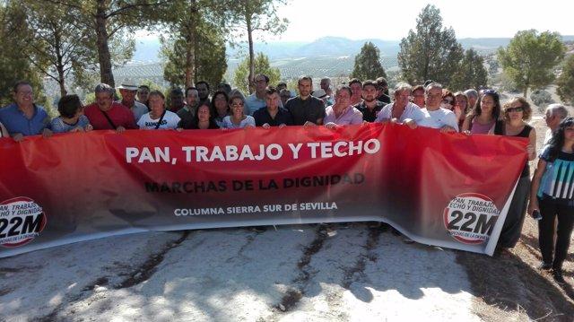 Asamblea 'Dignidad, Pan, Trabajo y Techo' en Badolatosa