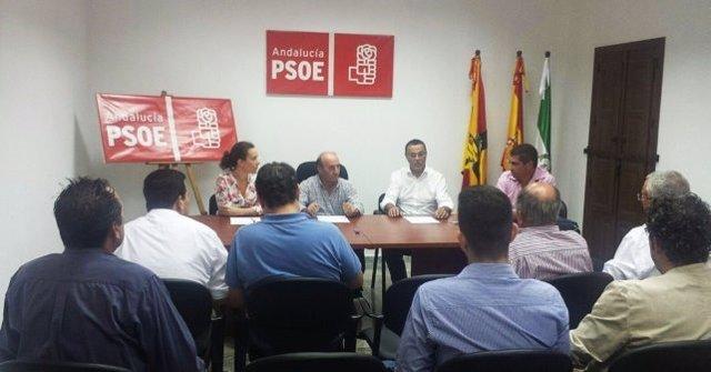 Ignacio Caraballo en la nueva agrupación local de Cumbres de Enmedio