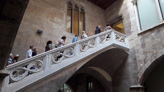 Puertas abiertas en los Palacios de la Diputación